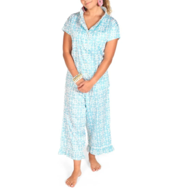 Garden Gate Sateen Capri PJ Set