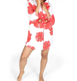 Poppies Sateen Sleep Shirt