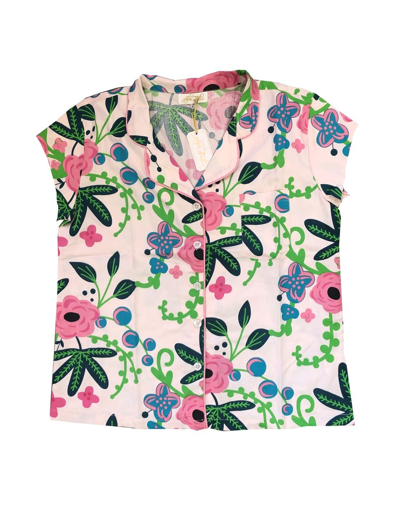 Botanica Ruffled PJ Summer Set