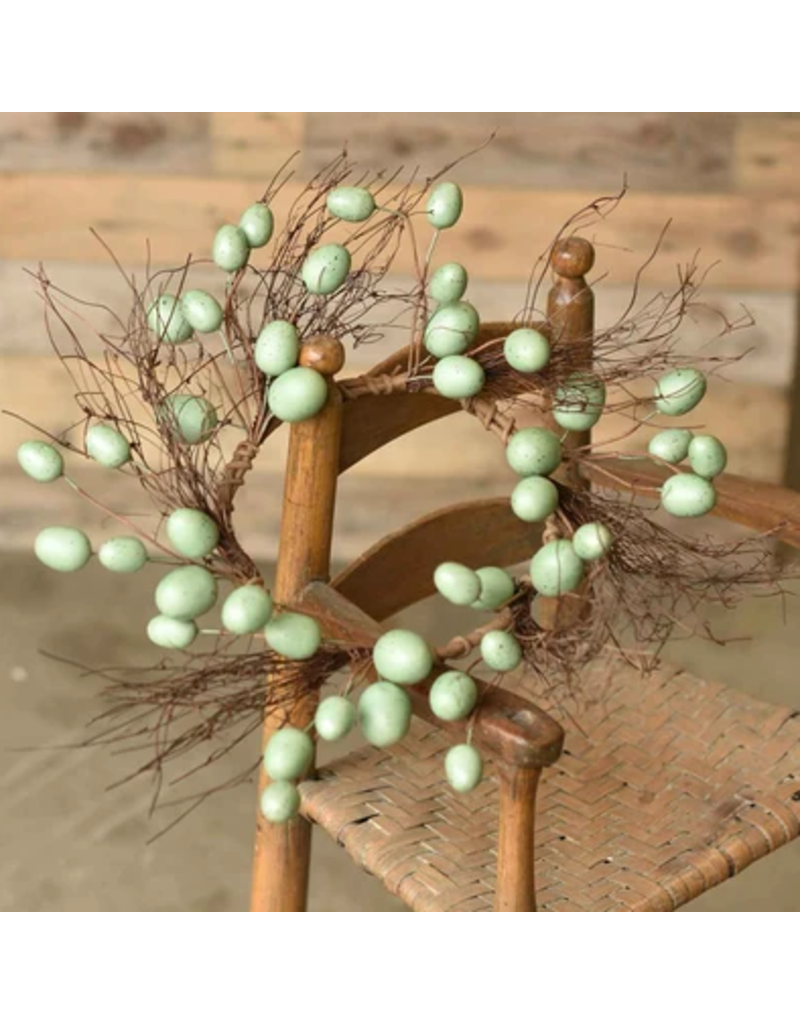"""Nested Egg Candle Ring 6.5"""""""