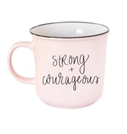 Strong & Courageous Campfire Mug