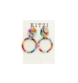 Multi Acrylic Earrings