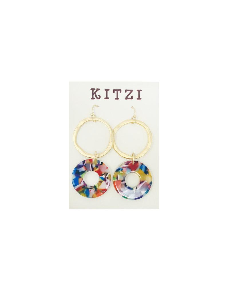 Multi Acrylic Earrings