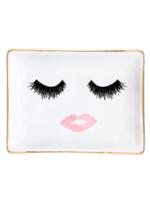 Lashes & Lips Jewelry Dish