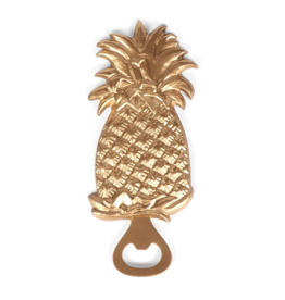 Pineapple Bottle Opener Gold