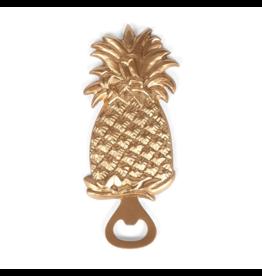 Pineapple Bottle Opener Gold