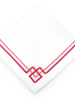 Interlocking Key Napkin Pink