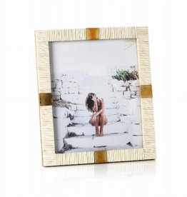 Maha Bone Brass Photo Frame
