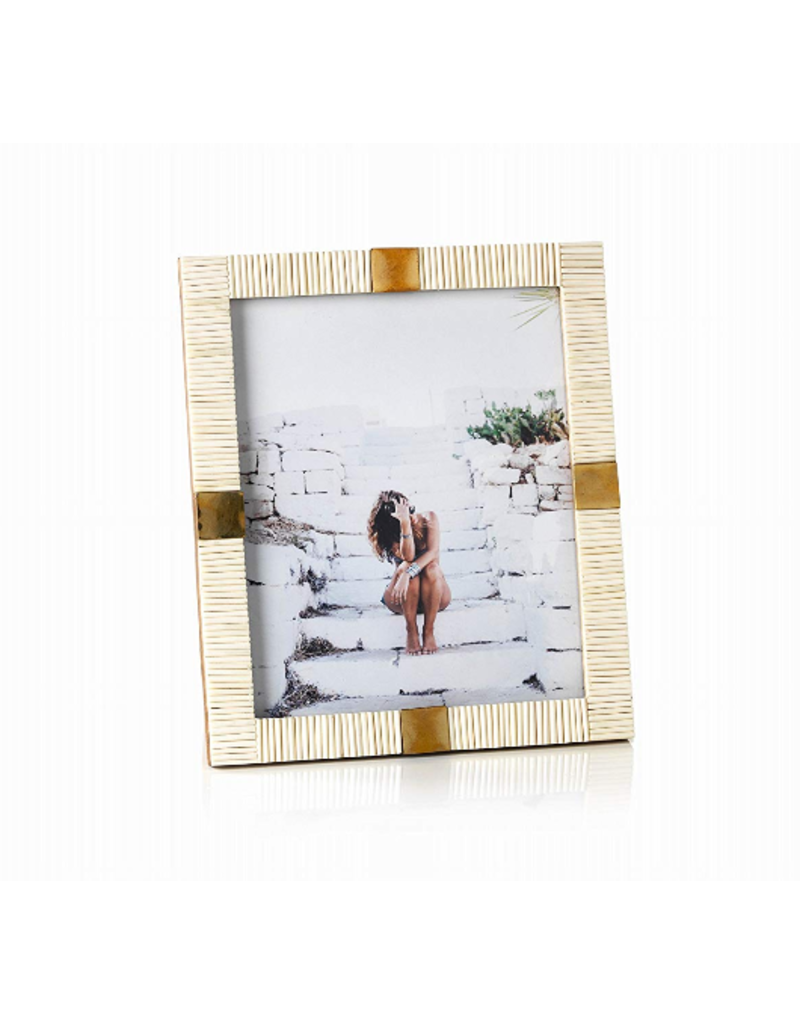 Maha Bone Brass Photo Frame