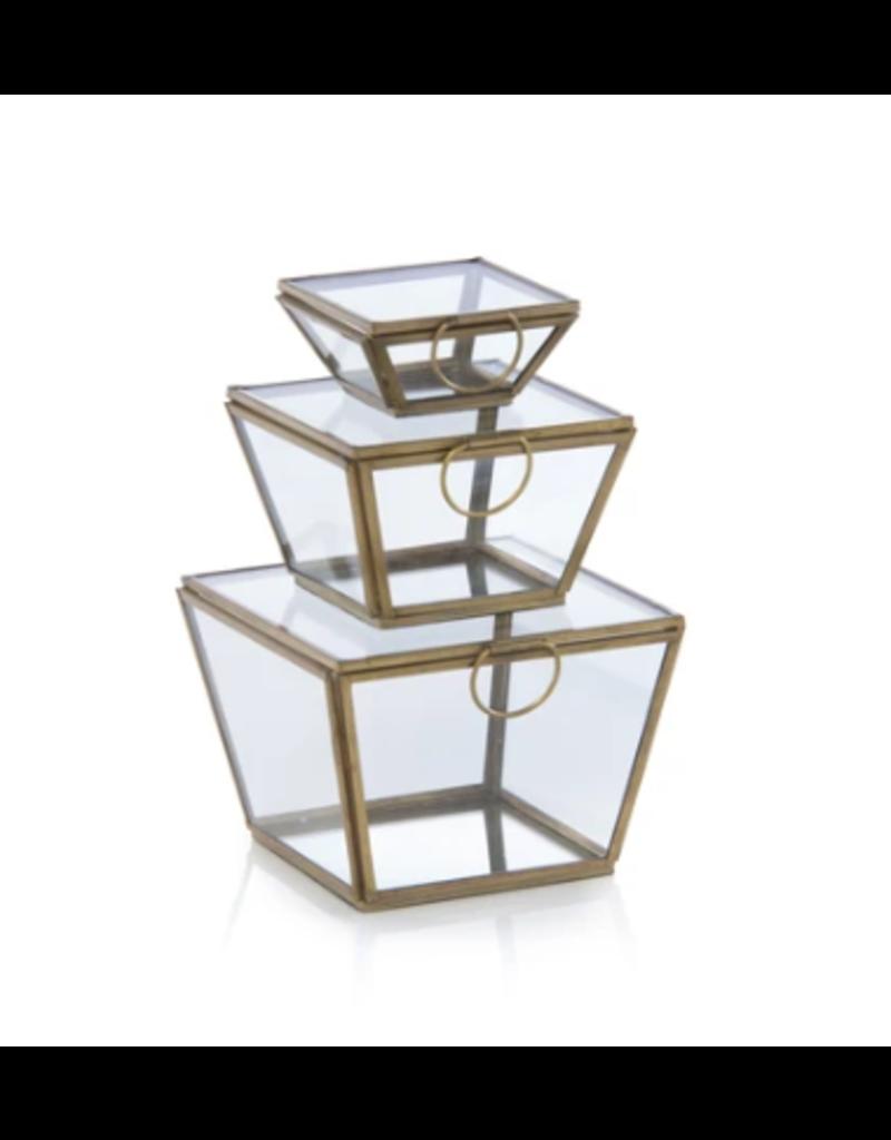 Wallace Square Box Gold