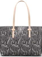 Breezy East West Tote, snake