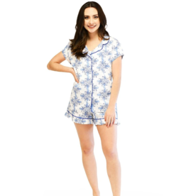 Sea Life Ruffled PJ Summer Set