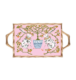 Bunnies Bamboo Tray