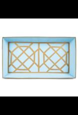 Don't Fret Guest Towel Tray Light Blue