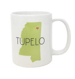 Tupelo Ceramic Mug Lime
