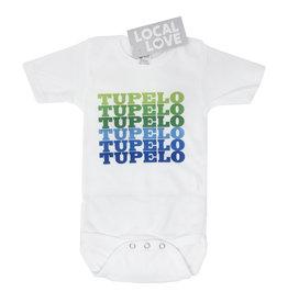 Baby Onesie Tupelo Green/Blue