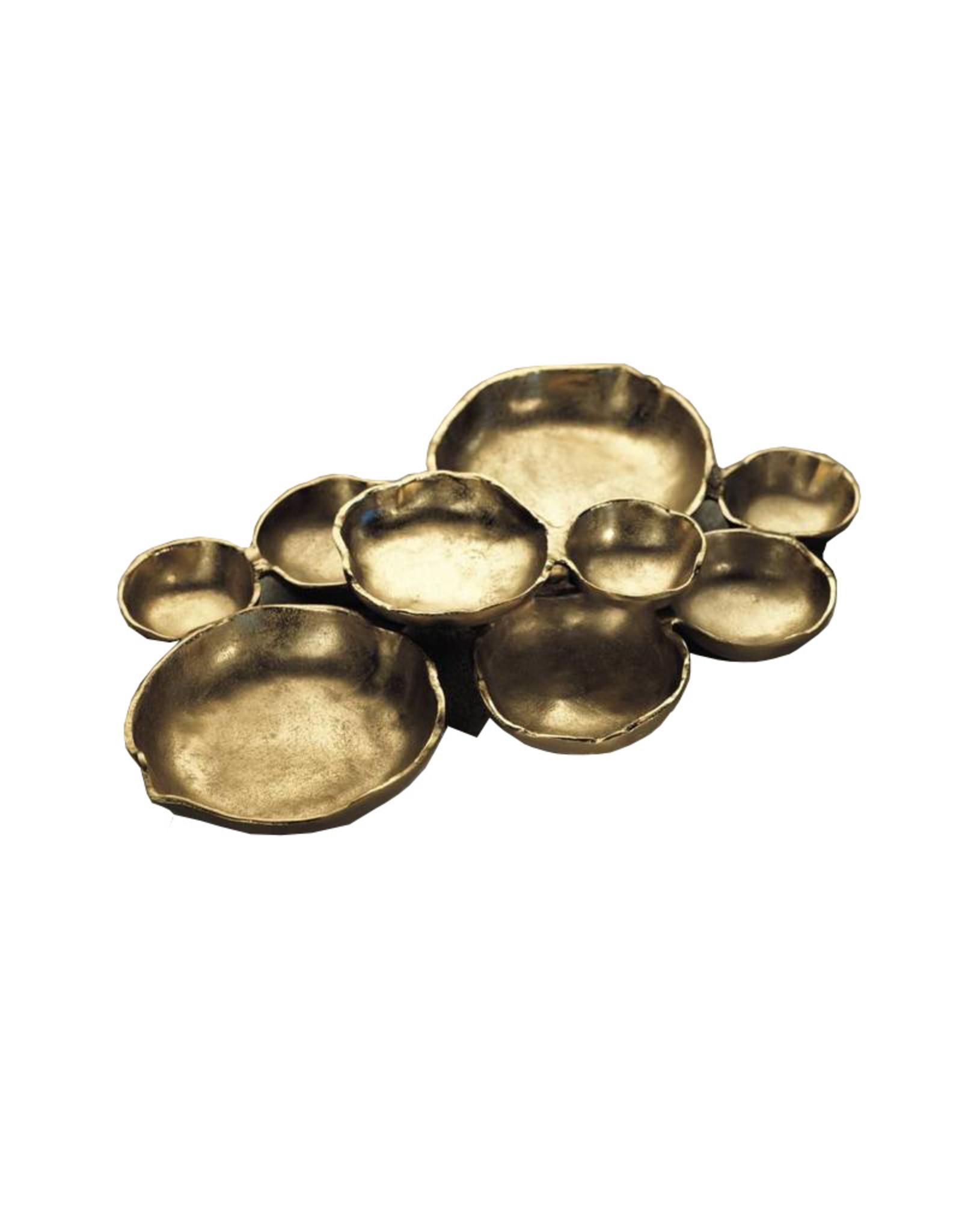 Cluster of 9 Serving Bowls
