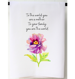 To the World Mother Flour Sack Towel