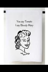 You Say Tomato Flour Sack Towel