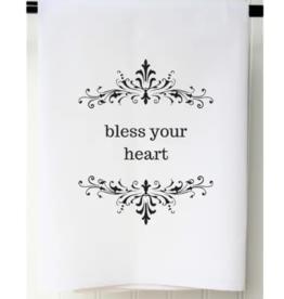 Bless Your Heart Flour Sack Towel