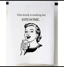 Awesome Flour Sack Towel