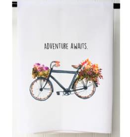 Adventure Awaits Flour Sack Towel