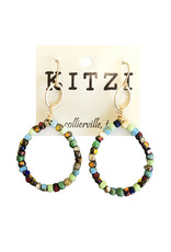 Multi Bead Earrings