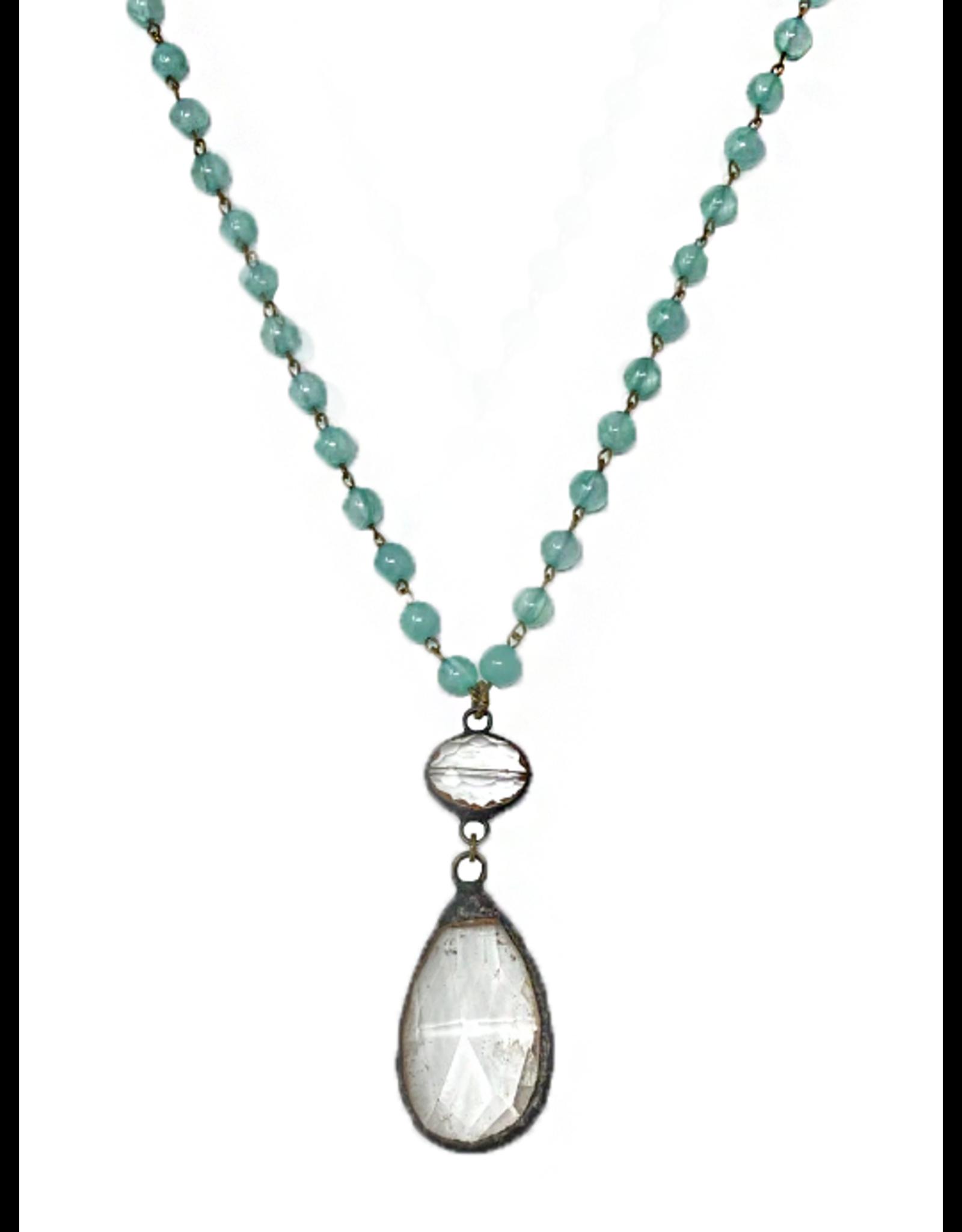 MC Bluebell Necklace- Aquamarine