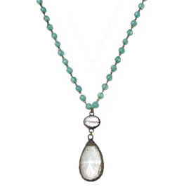 MC Bluebell Necklace- Aquamarine