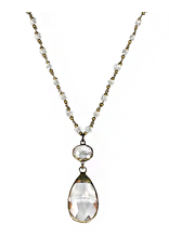 MC Bluebell Necklace- Clear