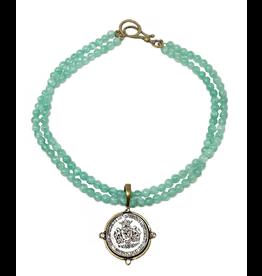 MC Harmony Necklace- Aquamarine
