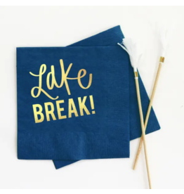 Lake Break Napkin