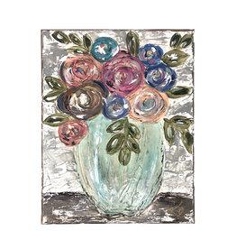 11 x 14 floral art