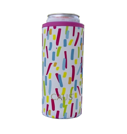 Can Cooler Skinny Paint Splash