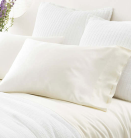 Silken Solid King Pillowcase (Pair)