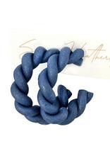 The Rope Hoop Earrings