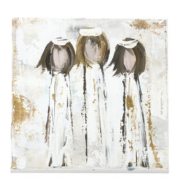 Small BJW Angel Trio Painting