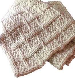 Lattice Knit blanket