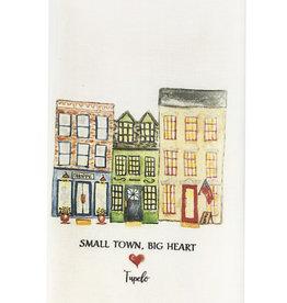Small Town Big Heart Dishtowel