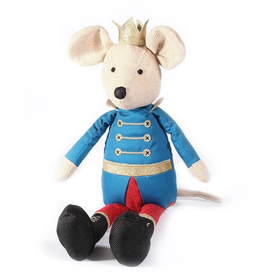 King Mouse Nutcracker Doll