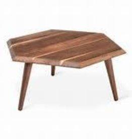 Metric Coffee Table in Walnut