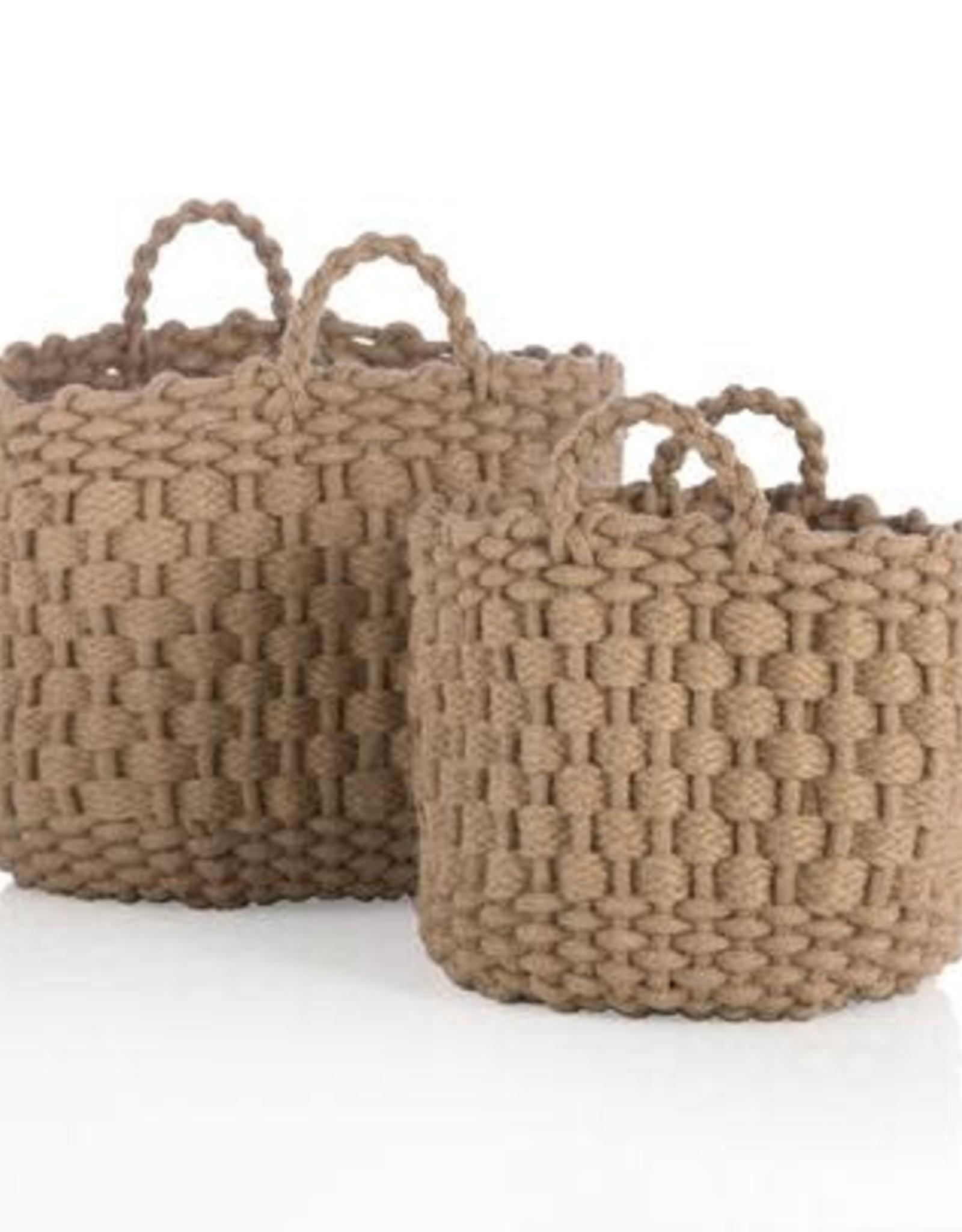 Handled Jute Basket