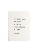 John Lennon Paper Print 12x16