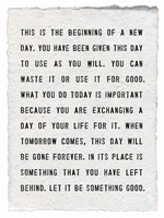 """This is the Beginning Paper Print 12x16"""""""