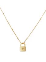 Luna Star Lock Necklace