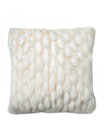 """White Loloi Pillow 22x22"""""""