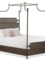 Lansing King Size Bed - Weathered Gray Finish