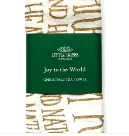 Christmas Hymn Tea Towel