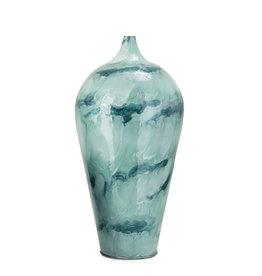 Marovo Tall Enamel Iron Vase