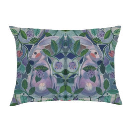 Finch & Poppy Rabbit Pillow